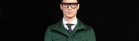 Ports 1961 fall/winter 2013 collection as part of Milan Fashion Week Menswear Fall/Winter 2013 on January 15, 2013 in Milan, Italy.