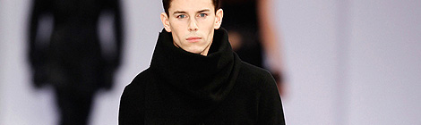 Hugo By Hugo Boss Autumn/Winter 2013/14 fashion show during Mercedes-Benz Fashion Week Berlin on January 17, 2013 in Berlin, Germany.