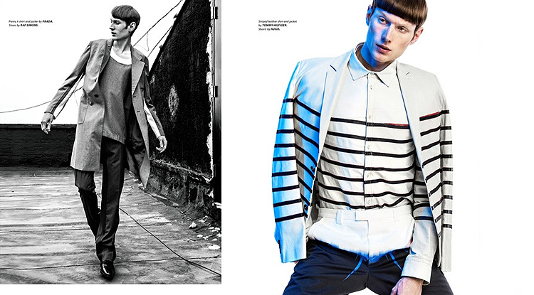 "Aiden Andrews by Kevin Sinclair | Essential Homme ""Spring Fling"""