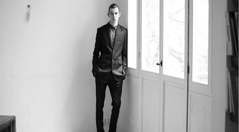 Dior Homme Fall 2013 Video Lookbook