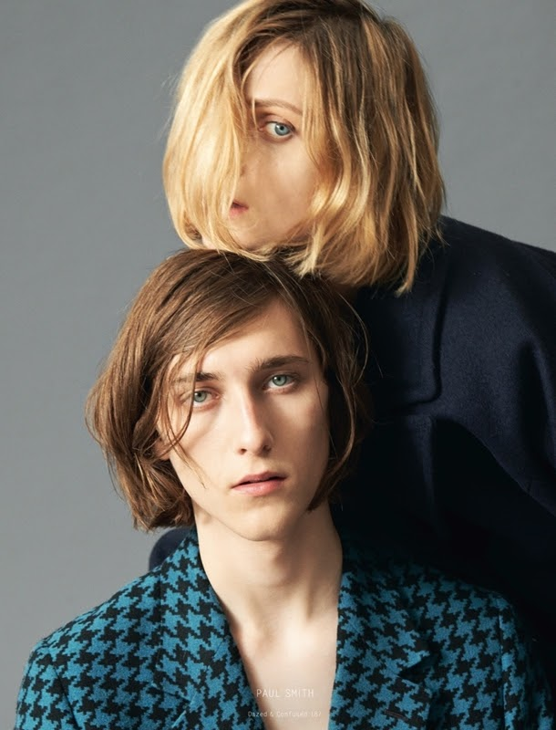 Maria Loks & Jake Lucas by Andrea Spotorno - Collections AutumnWinter 2013 - Dazed & Confused - DerriusPierreCom (2)