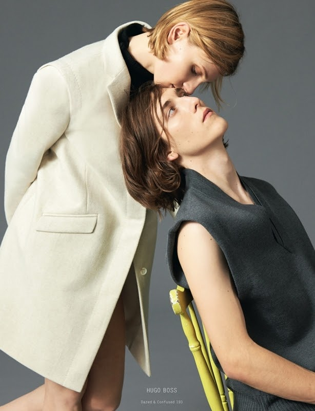 Maria Loks & Jake Lucas by Andrea Spotorno - Collections AutumnWinter 2013 - Dazed & Confused - DerriusPierreCom (6)