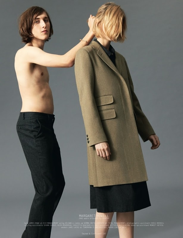 Maria Loks & Jake Lucas by Andrea Spotorno - Collections AutumnWinter 2013 - Dazed & Confused - DerriusPierreCom (8)