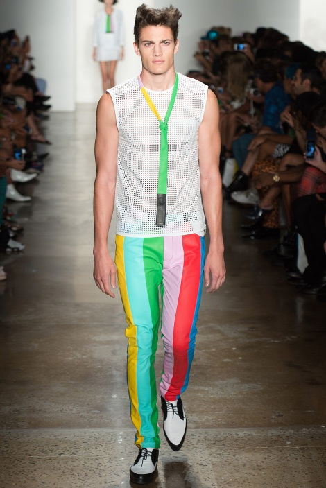 Jeremy Scott SpringSummer 2014 - New York Fashion Week - DerriusPierreCom  (1)