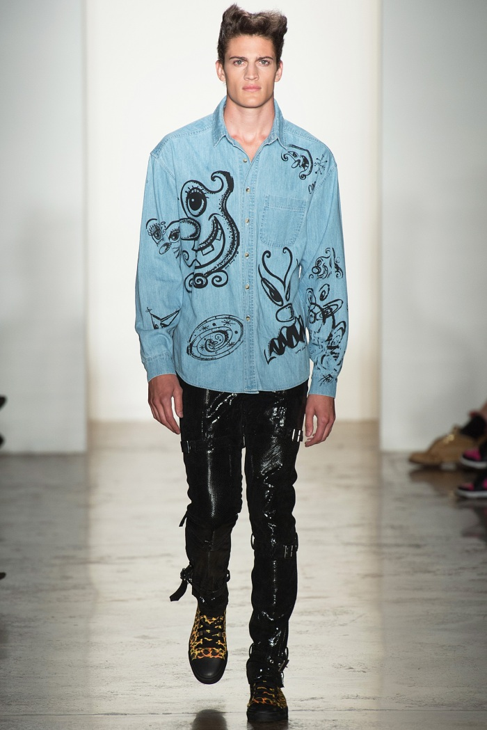 Jeremy Scott SpringSummer 2014 - New York Fashion Week - DerriusPierreCom  (12)