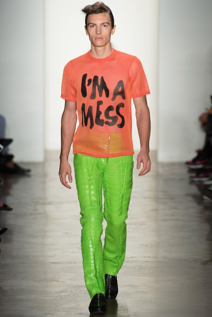 Jeremy Scott SpringSummer 2014 - New York Fashion Week - DerriusPierreCom  (14)