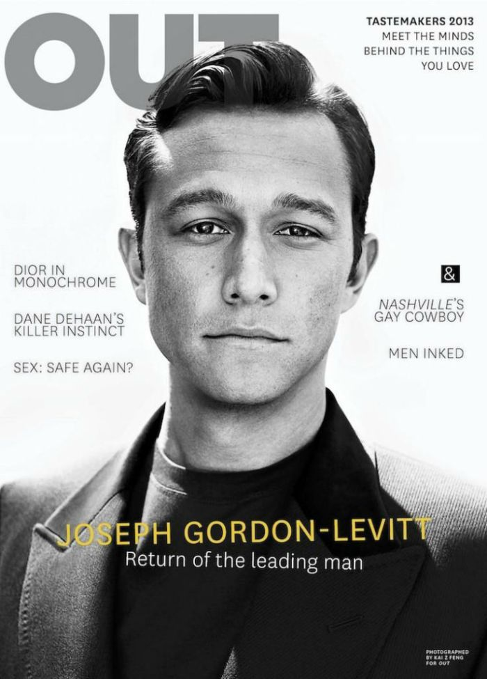 Joseph Gordon by Kai Z Feng For Out Magazine Cover - derriuspierrecom