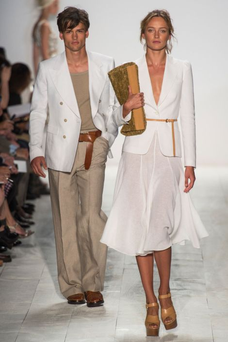 Michael Kors SpringSummer 2014 - New York Fashion Week - DerriusPierreCom (1)