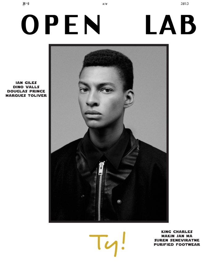Ty Ogunkoya For Open Lab FallWinter 2013 Cover - DerriuspierreCom